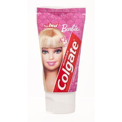 Colgate Toothpaste Kids 2-6 Years-Old Cavity Protection Strawberry Flavor 90G. New Look Barbie Version # 1 front-878330
