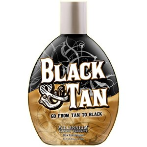 Black & Tan 75x Indoor Tanning Bed Bronzer 13.5OZ