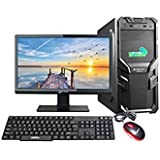 "Assembled Desktop With Core 2 Duo, G31 Motherboard, 4GB DDR2 RAM, 1TB SATA HDD, NO DVD RW, 18.5"" Monitor With IBall PulseBT4 Neckband Wireless Headphones With Mic"