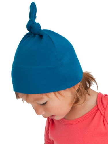 American Apparel Organic Infant Baby Rib Hat - Galaxy / One Size front-1027256
