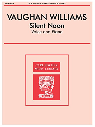 Silent Noon Medium Low Voice (Silent Noon Sheet Music compare prices)