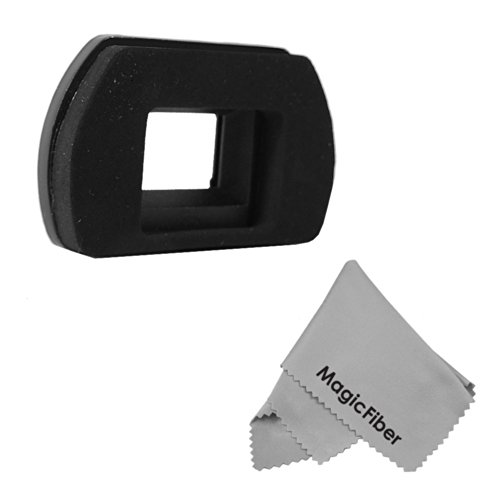 Eyepiece / Eyecup (Ef And Eb Compatable) For Canon Rebel And Eos Series Cameras Including T4I T3I T3 T2I T2 T1I Xti Xsi Xs K2 Xt + Premium Magicfiber Microfiber Cleaning Cloth