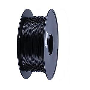 FUNFLAG 3D Printer Filament PLA 1 kg Plastic Spool-BLACK from TwoPages Homefashion