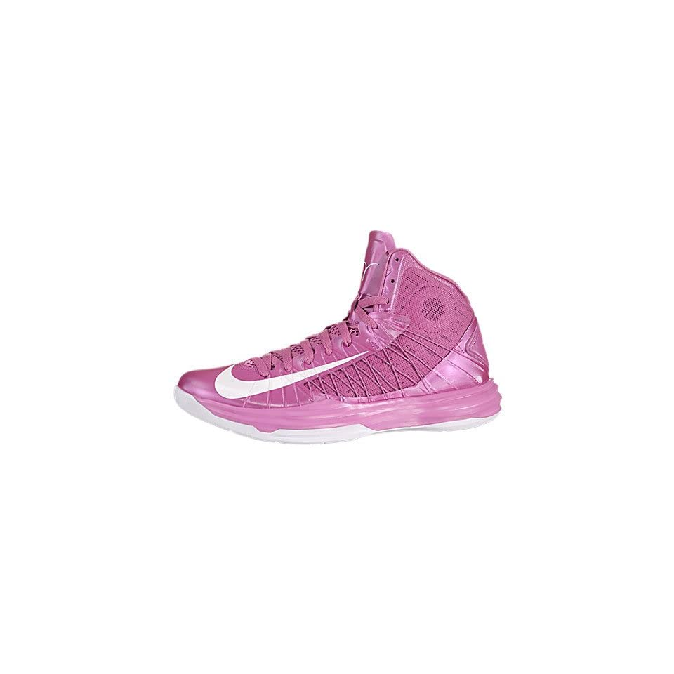 competitive price 55b32 b690c Nike Lunar Hyperdunk 2012 (Think Pink) Pink Fire   White Wolf Grey, 9