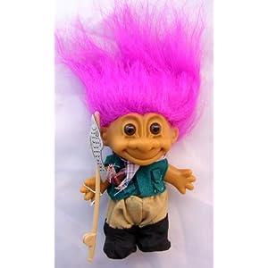 My Lucky Troll FISHERMAN Troll Doll