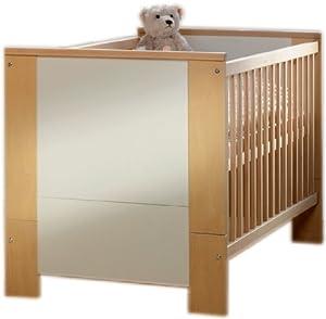 schardt 04 661 37 01 kombi kinderbett birke cube 70 x 140 cm baby. Black Bedroom Furniture Sets. Home Design Ideas