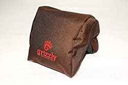 Grizzly Camera Bean Bag (MEDIUM-DARK BROWN), Photography Bean Bag, Video Bean Bag, Camera Support, Camera Sandbag, Camera Beanbag, Spotting Scope Support, Birders Camera, Bean Bag Tripod, African Safari Equipment, Photography Tours. Heavy Stitching, Tough, Reliable.