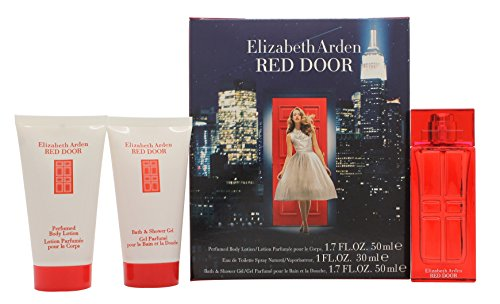 Elizabeth Arden Red Door Confezione Regalo 30ml EDT + 50ml Lozione Profumata per il Corpo + 50ml Bag