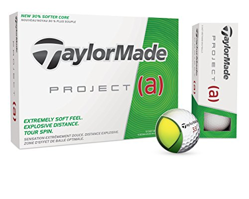 TaylorMade 2016 Project A Golf Balls (1 Dozen) (Project A Taylor Made compare prices)