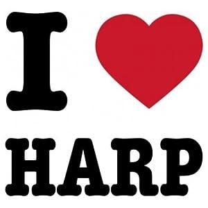 Body bebé I Heart Harp by Shirtcity de Shirtcity - BebeHogar.com