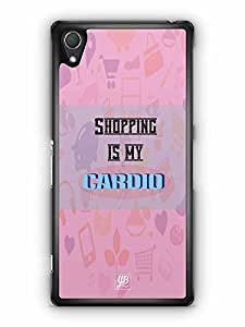 YuBingo Shopping is My Cardio Designer Mobile Case Back Cover for Sony Xperia Z2