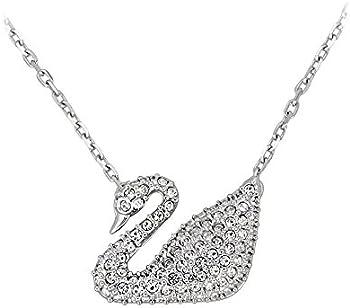 Swarovski Swan Pendant