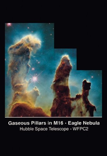 Pillars Of Creation - Gaseous Pillars In M16, Eagle Nebula, By Nasa, 20X30 Canvas Giclée, Gallery Wrap
