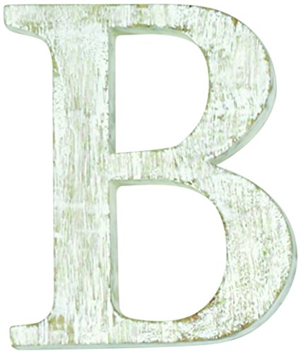 Mud Pie Wood Block Initial-B