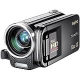 Sanyo Xacti FH1 Caméscope Numérique Full HD + Appareil photo 8 Mpix Zoom optique 16x Microphone Noir