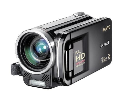 Sanyo VPC-FH1EBK Full HD Dual Video - Black