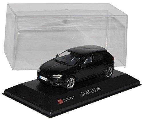 seat-leon-cupra-280-schwarz-5-turer-ab-2012-1-43-modellcarsonline-sonderangebot-modell-auto-mit-indi