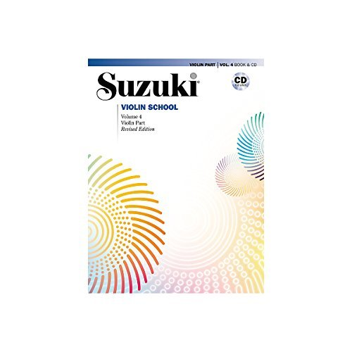Alfred Suzuki Violin School Violin Part & CD Volume 4 (Suzuki Violin Book 2 compare prices)