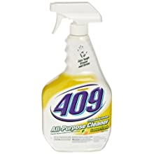 Formula 409 00888 Antibacterial Kitchen All Purpose Cleaner Disinfectant, Lemon, 32 fl oz Spray Bottle