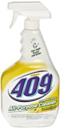 Formula 409 00888 Antibacterial Kitchen All Purpose Cleaner Disinfectant, Lemon, 32 fl oz Spray Bottle