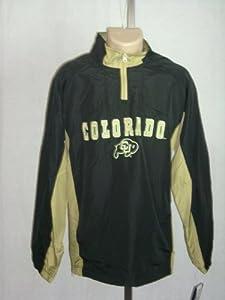 COLORADO BUFFALO LARGE Embroidered Pullover Light Jacket Sweatshirt Windbreaker by Cadre