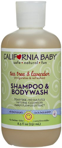 California Baby Tea Tree & Lavender Shampoo & Body Wash - 8.5 oz
