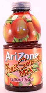 Arizona Fruit Smoothie mix orchard peach - 34 fl oz.
