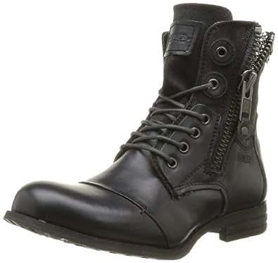 Bunker Zip, Boots femme - Noir (F Carbon), 36 EU