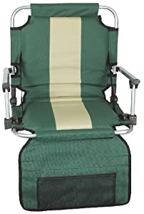 Stansport Folding Stadium Seat with Arms by StanSport