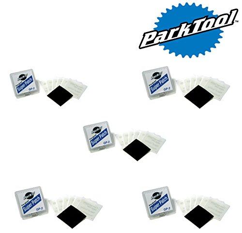 park-tool-gp-2-pre-glued-super-patch-puncture-repair-kits-pack-of-5-kits