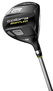 Cobra Baffler T-Rail Fairway Wood (Men's Right-Handed, 16 Degree 3 Wood, Graphite Design Tour AD Graphite Shaft, Regular Flex)