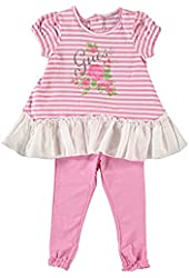 """Guess """"Rose Light"""" 2-Piece Outfit (Sizes 12M - 24M) - pink, 12 months"""