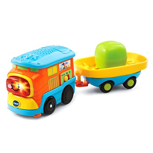 VTech Go! Go! Smart Wheels - Motorized Freight Train with Cargo Car (Freight Car compare prices)