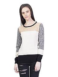 Kalt Women's Cotton Sweater (W125 XS _Multicolour_X-Small)