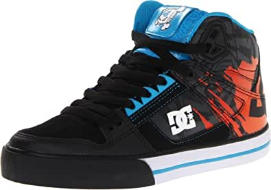 dc shoes dc shoes footwear ken block spartan hi wc black blue men 39 s 8 shoes. Black Bedroom Furniture Sets. Home Design Ideas