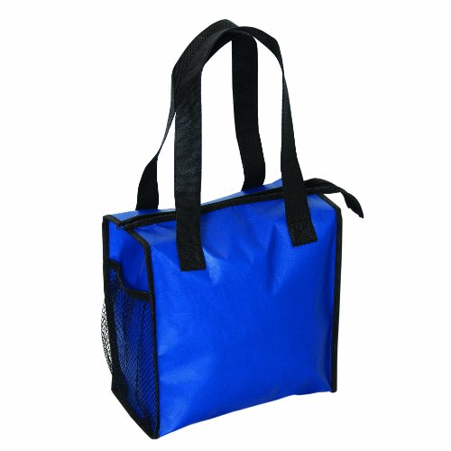 Zipper Insulated Cooler Lunch Bag, Royal by BAGS FOR LESSTM - 1