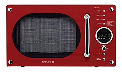 Daewoo 800w Red Micro-ondes 20L