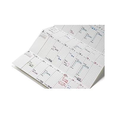 ノグラボ 2014「超」整理手帳 スケジュールシート 2013年11月始まり バーティカル ベーシックサイズ nogulabo-ver-sche-2014
