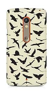 Amez designer printed 3d premium high quality back case cover for Motorola Moto X Play (30 Different Animals)