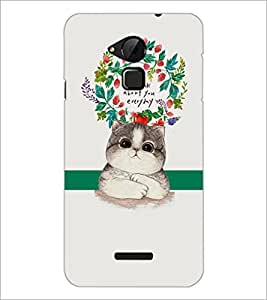 PrintDhaba Quote D-2875 Back Case Cover for COOLPAD NOTE 3 LITE (Multi-Coloured)
