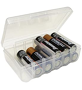 Dial AA Battery Storage Box (B328FN)