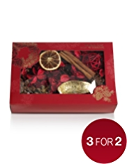 Mandarin, Cinnamon & Clove Pot Pourri Box