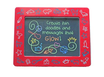 Animal Shapes Draw n Glow Doodle Board Picture Frame