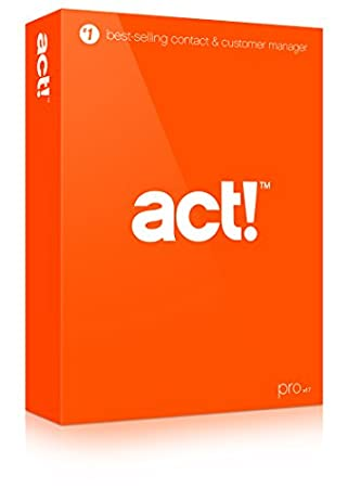 Act! Pro v17 (2015) DVD - Includes 1 hour Act! 101 training webinar held weekly