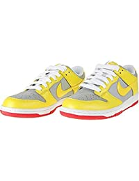 Nike Women's Dunk Low CL (Tour Yellow/Silver-White-Chili Red) 317815-701