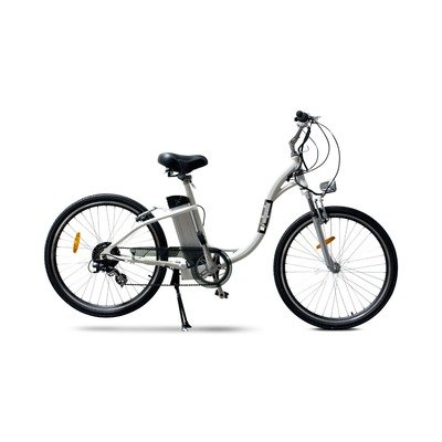 EWheels - Electric Cruiser Bicycle - EW-800 - White