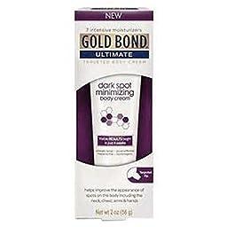 Gold Bond Ultimate Dark Spot Minimizing Body Cream, 2 ounces (1 Pack)