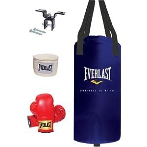 Everlast 25lb Heavy Bag Kit