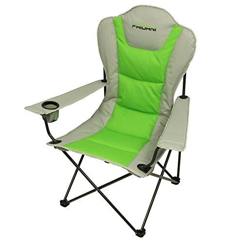 Fridani-FSG-108-Faltbarer-XXL-Camping-Stuhl-komplett-gepolstert-Getrnkehalter-3900g