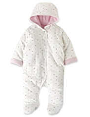 Cotton Rich Spotted Pramsuit